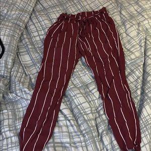 Pants - Pinstripe pants